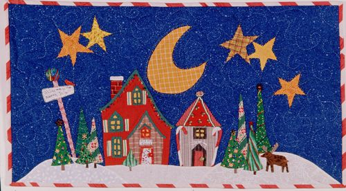 North pole wall quilt 2